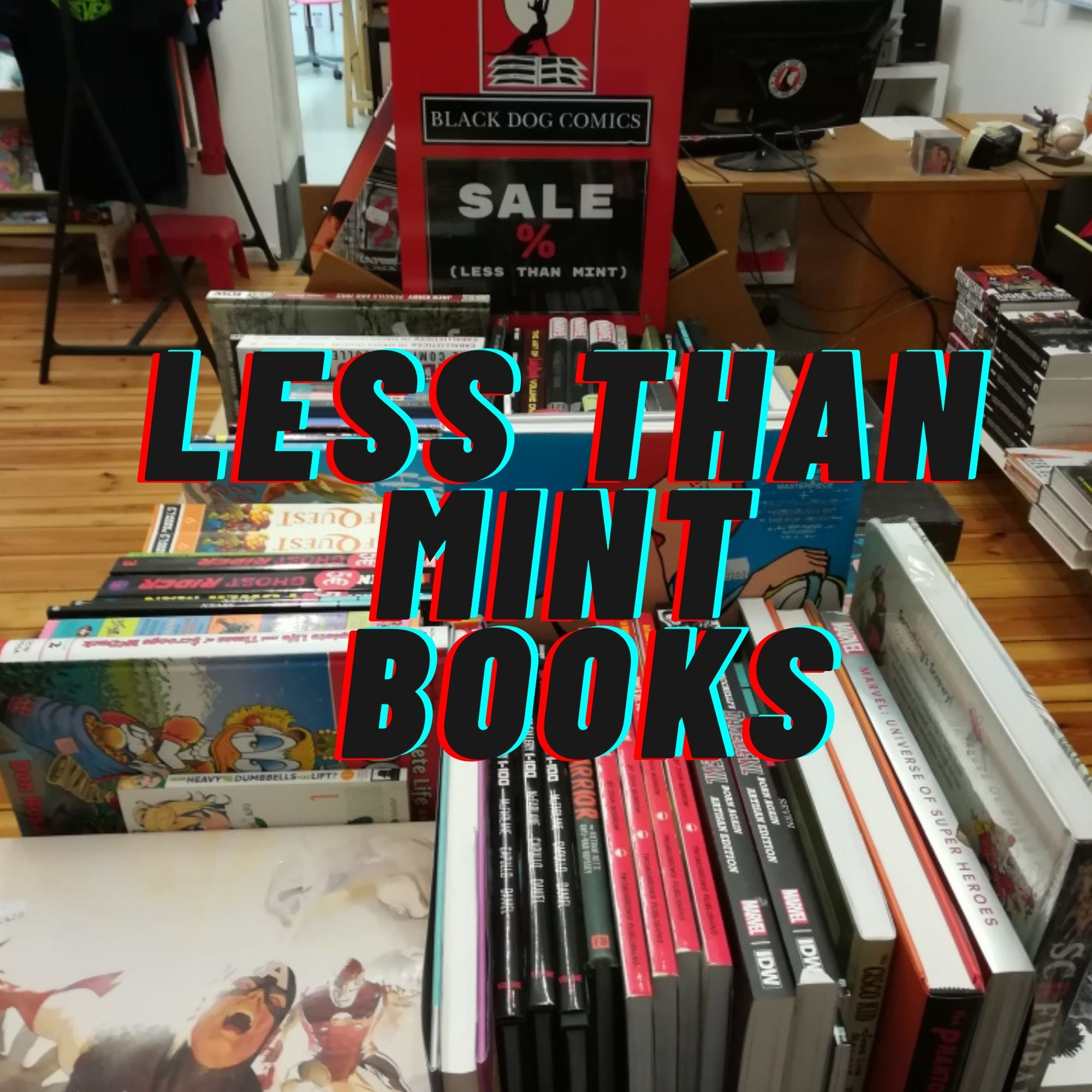 Less Than Mint Books